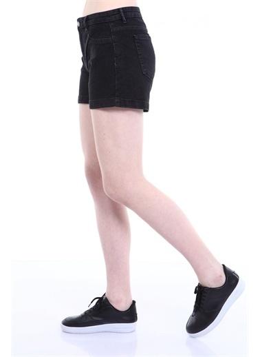 Rodi Jeans Kadın Denim Şort TY19YB142169 Siyah
